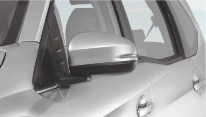 Adjustable Side Mirrors with Turning Lights