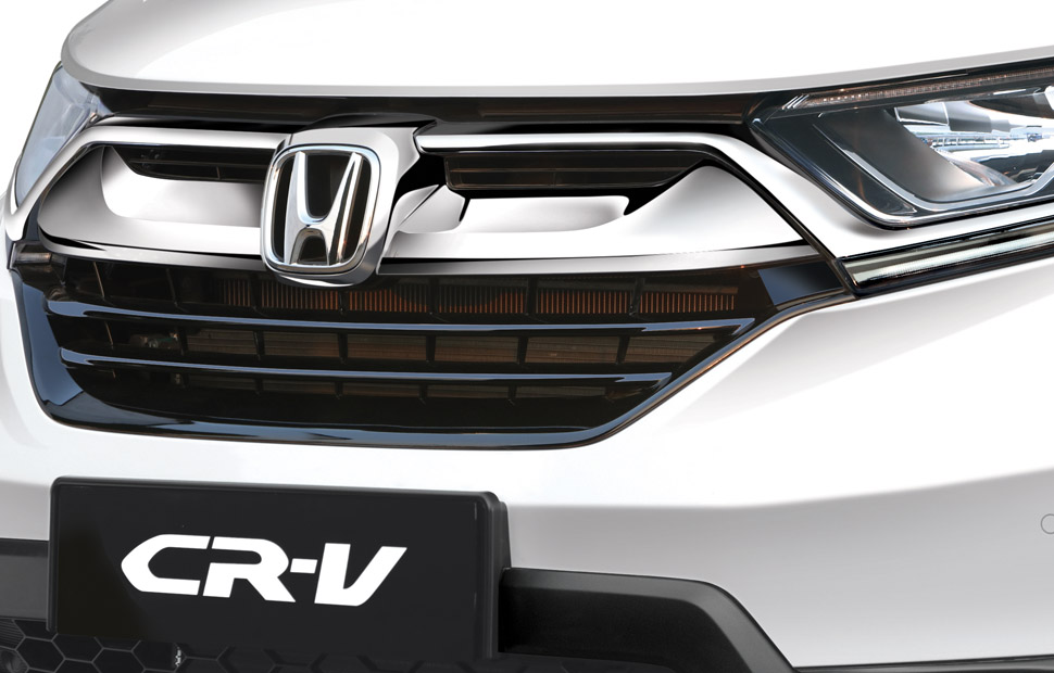 Graceful Front Grill