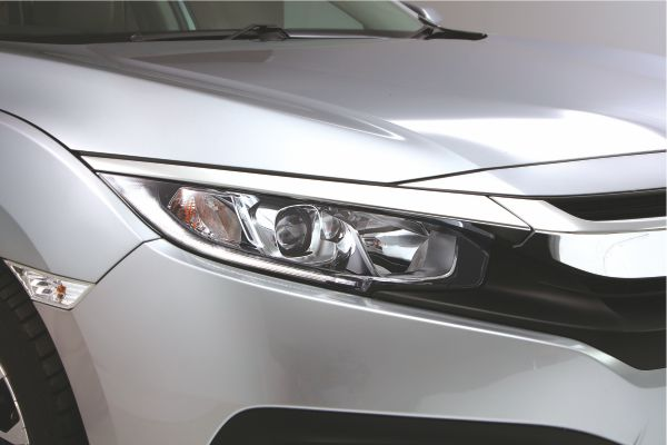 Headlights with LED (DRL)