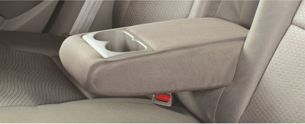 Rear Arm Rest with Cup Holder