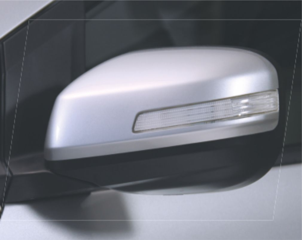 Side Mirrors with Turn Indicators
